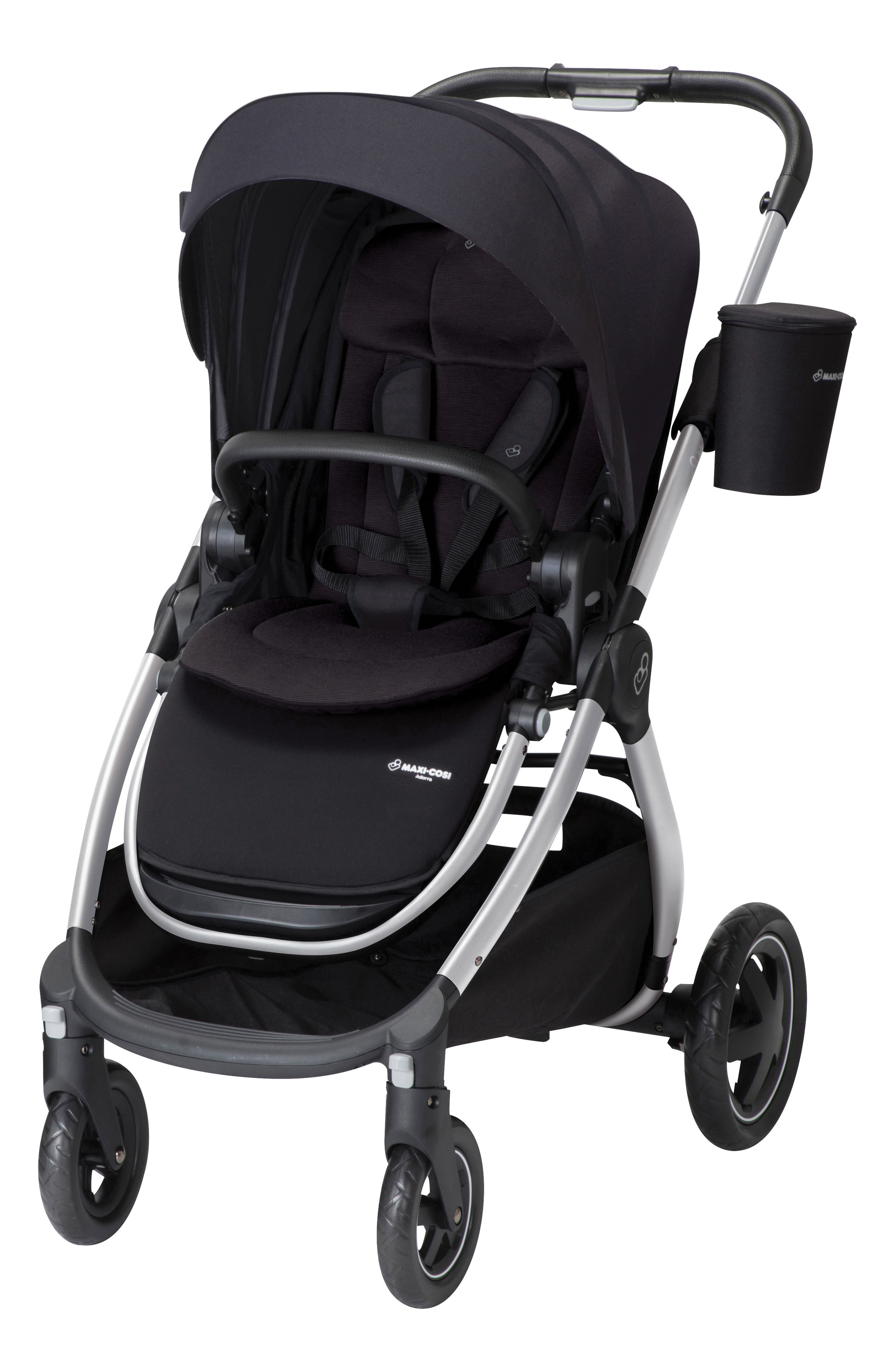 Nomad Black Maxi-Cosi Adorra Single Stroller