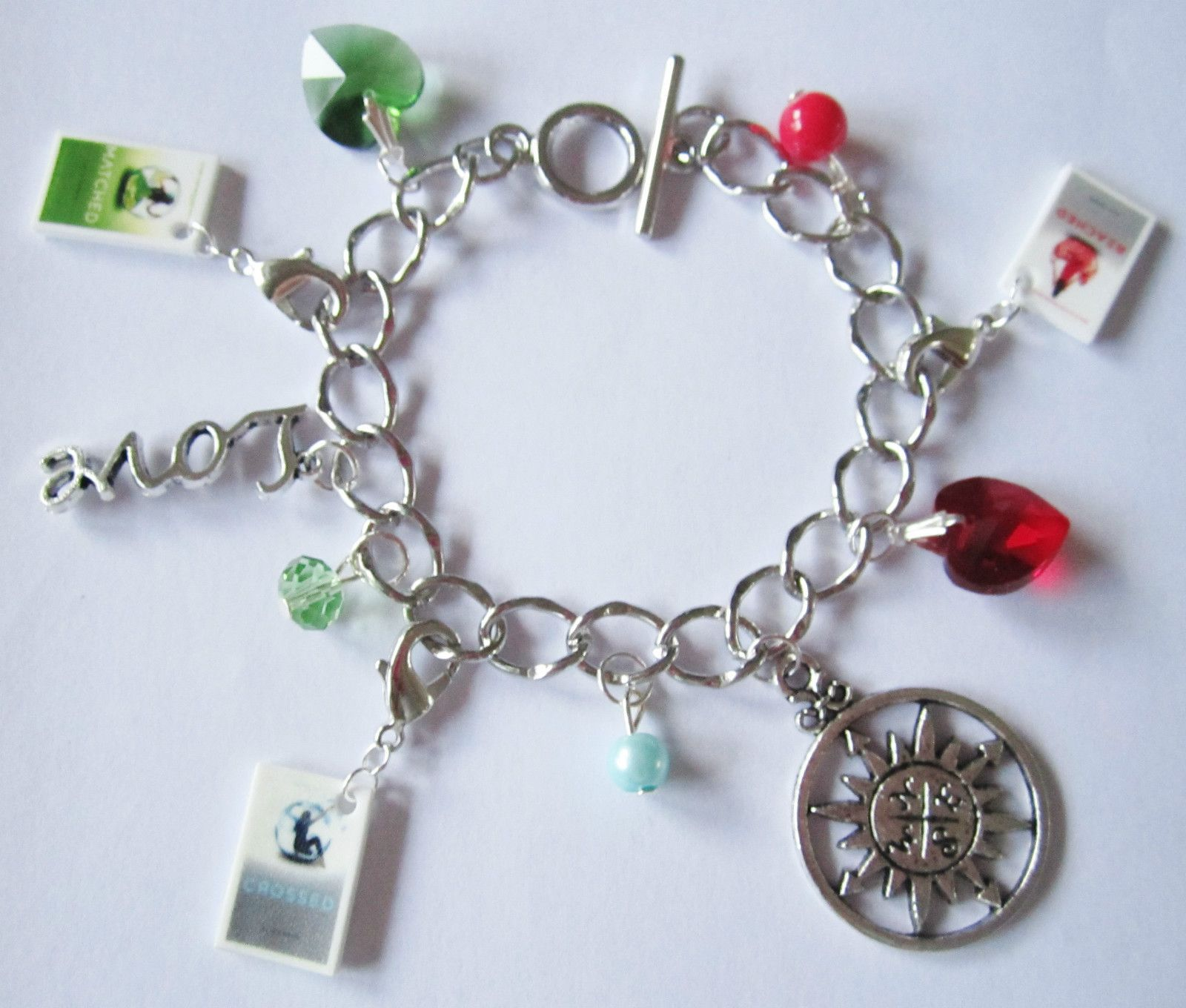 Matched Trilogy Charm Bracelet  So cute  Any fan of the book