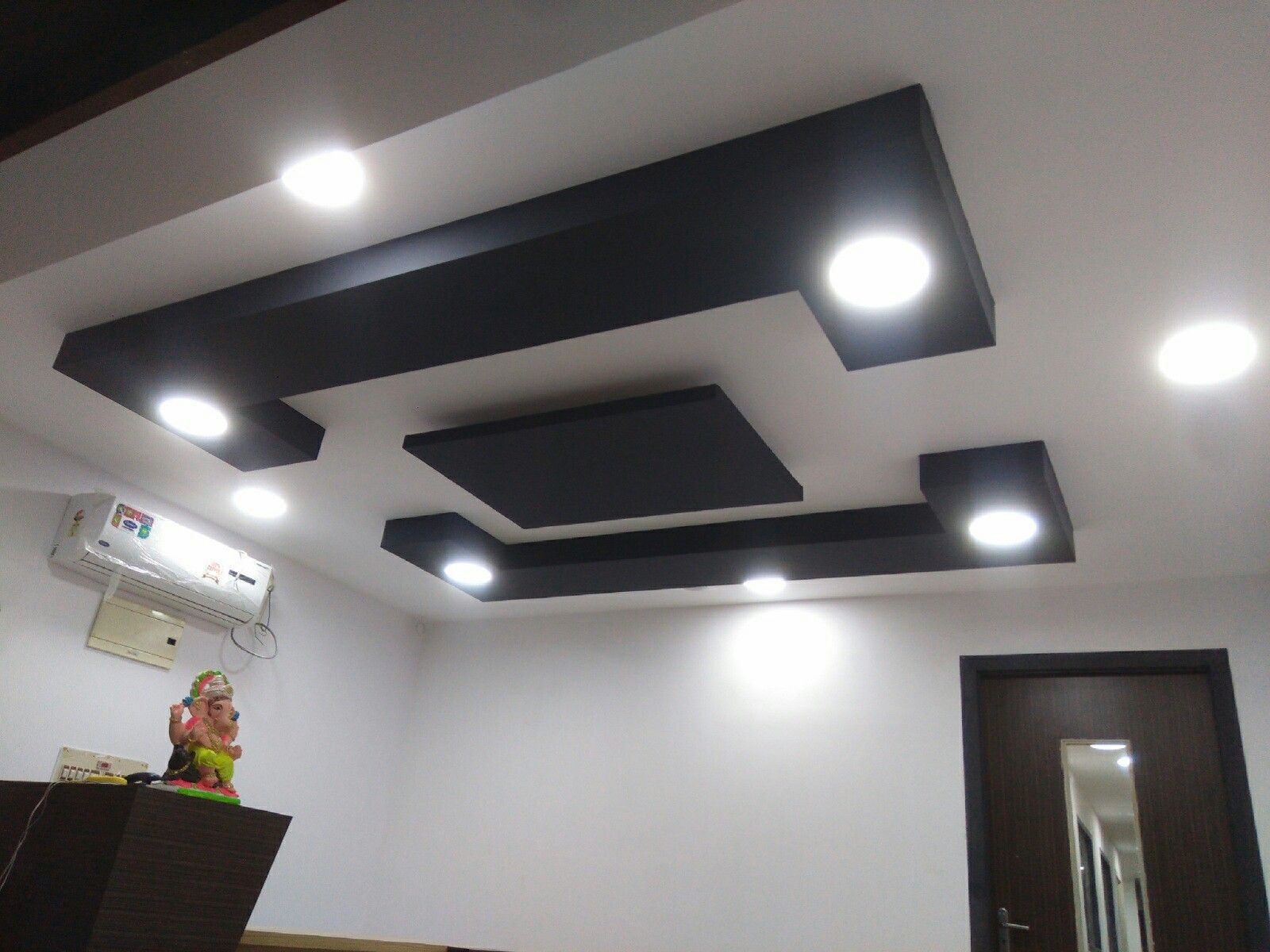 False ceiling with fan dining rooms false ceiling design fireplaces