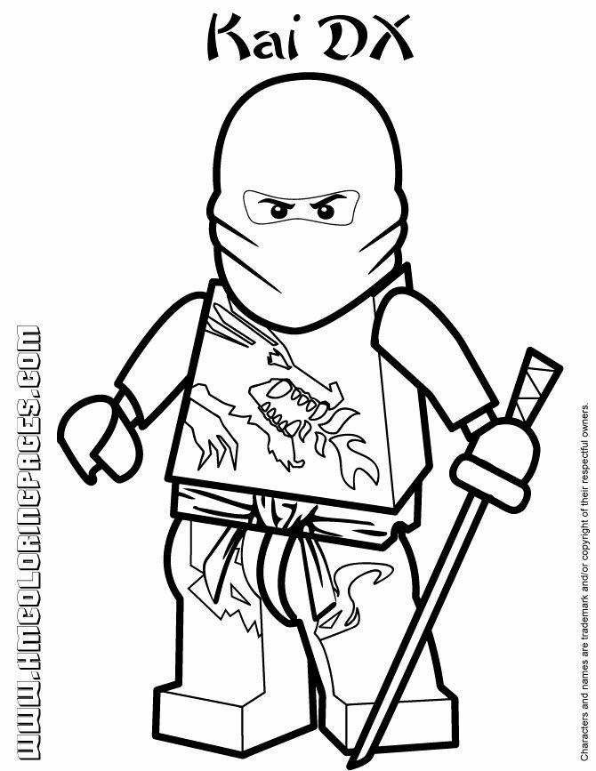 Kai Ninjago Coloring Page Best Of Ninjago Masters Spinjitzu Kai Dx Coloring Page Ninjago Coloring Pages Lego Coloring Pages Coloring Pages