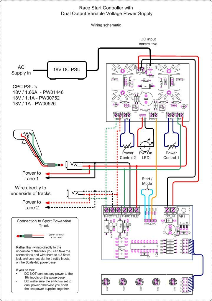 google image result for http picprojects org uk projects psu rh pinterest com slot car controller wiring diagram Electronic Slot Car Controller Schematic