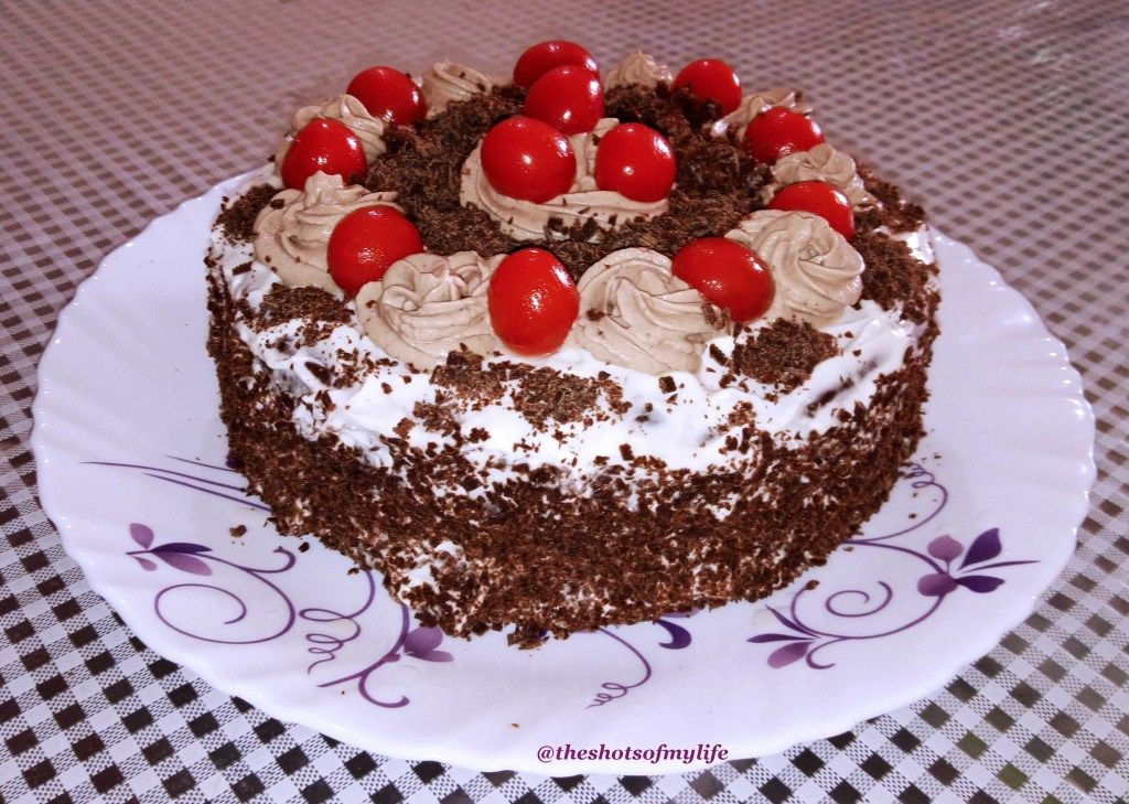 Desserts - Black Forest Cake - The Shots Of My Life  #desserts #cake #blackforest #baking #homecooking #sweet #chocolate #yummy #tasty