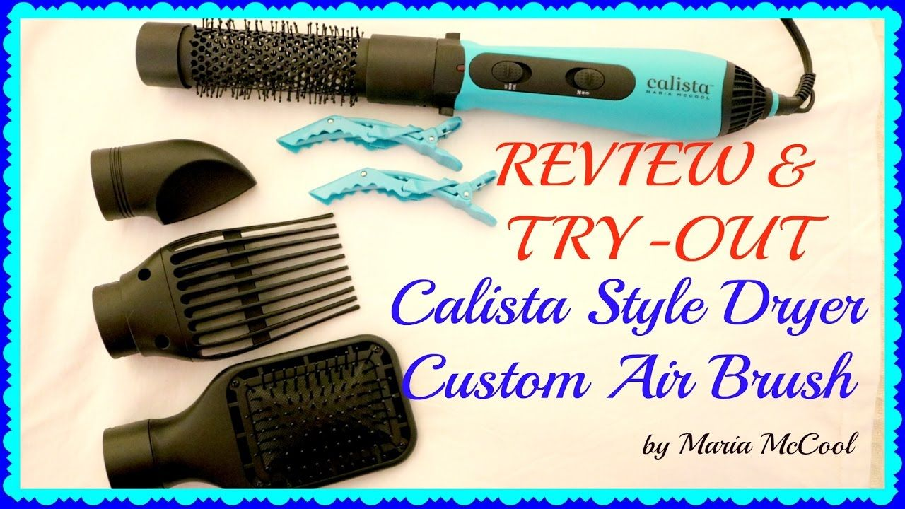 Calista Style Dryer Review Try Out Makeupqueenie68 Styling Dryer Dryer Reviews Makeup Yourself