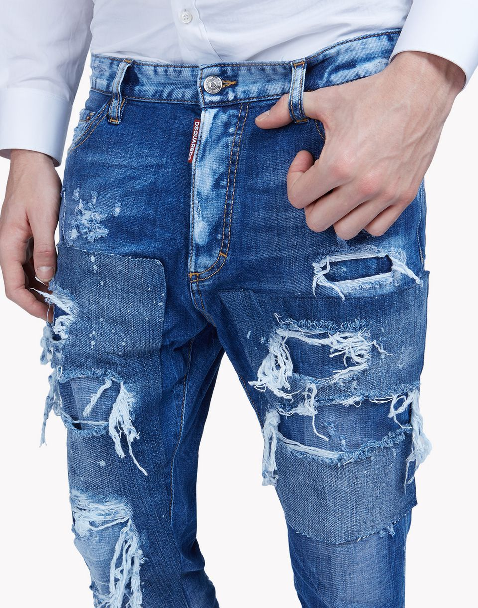 be13c888c6c glam head jeans moda vaquera Hombre Dsquared2