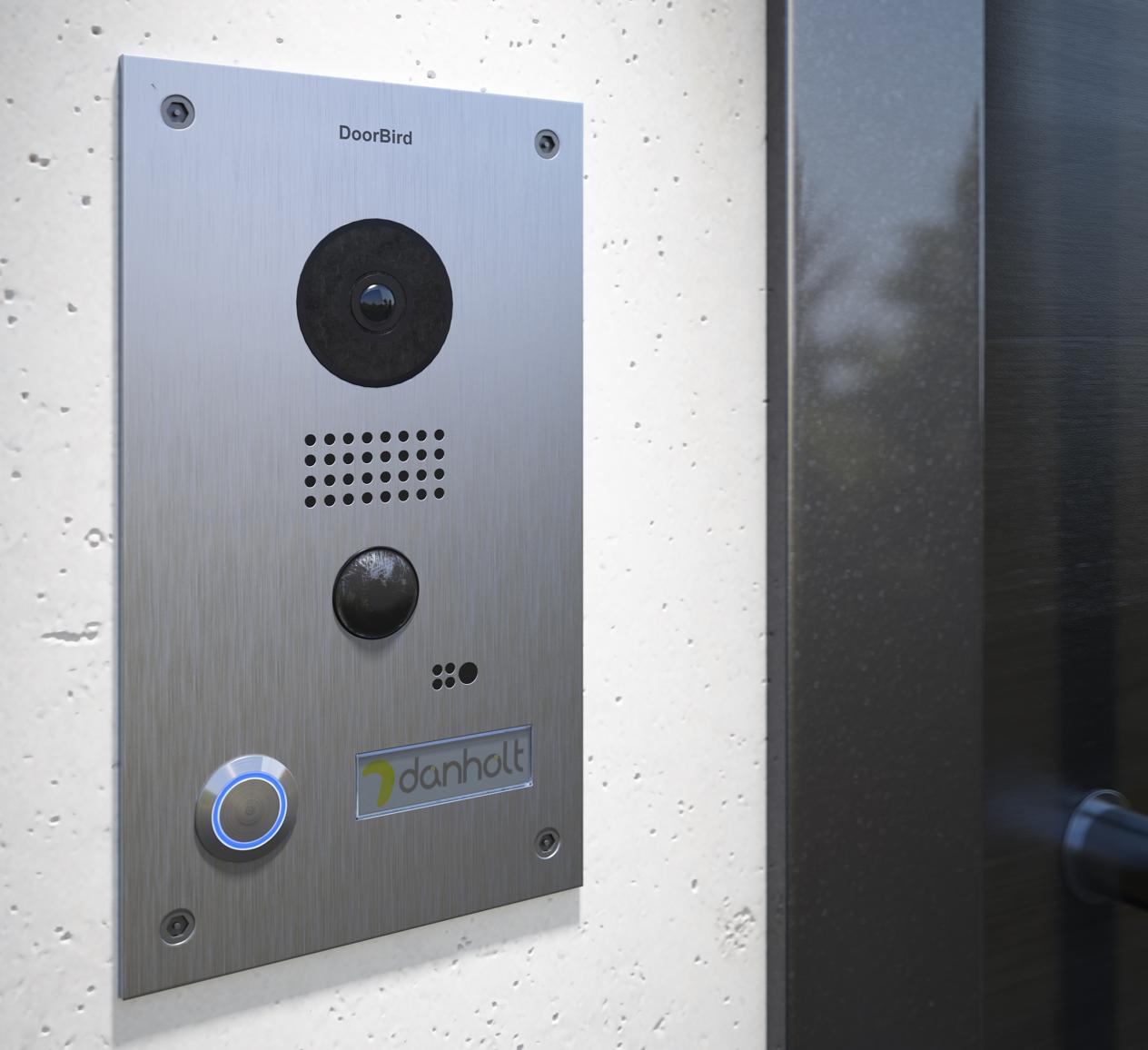 Doorbird Video Turstation In Edelstahl Haustechnik Sicherheitssysteme Gegensprechanlage