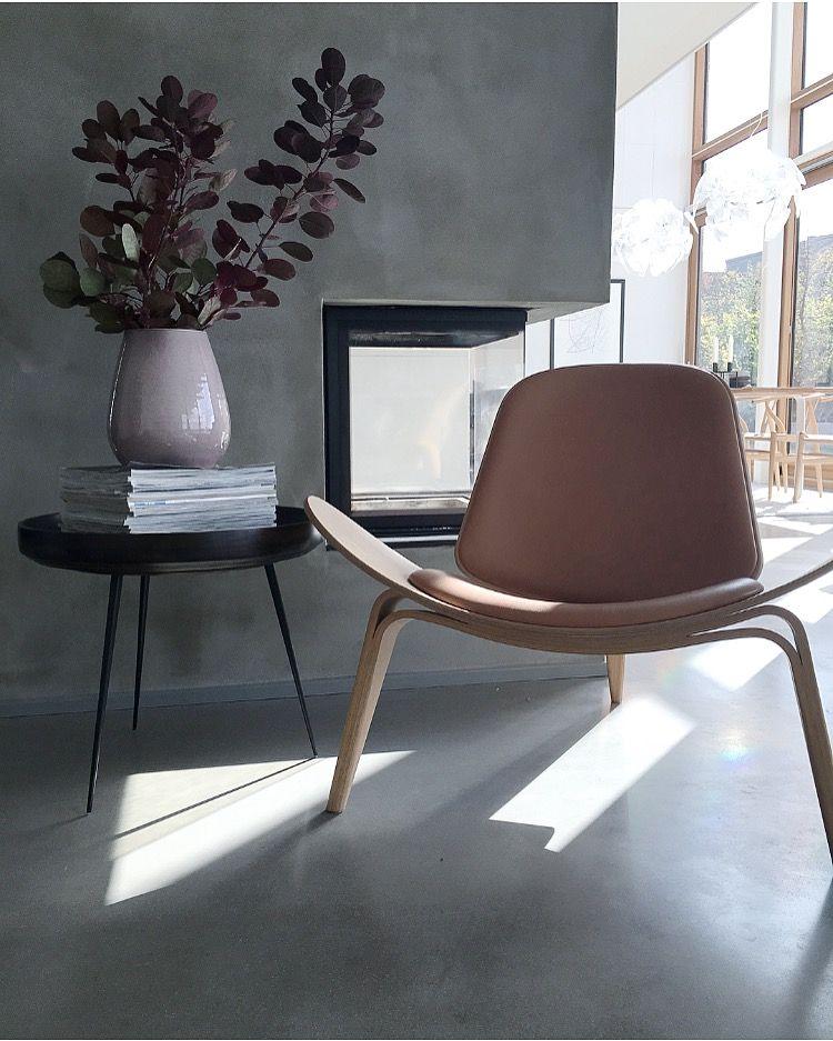 Replique De La Chaise Ch07 Hans Wegner Chaise Confortable Meubles De Salon Modernes Chaise Originale