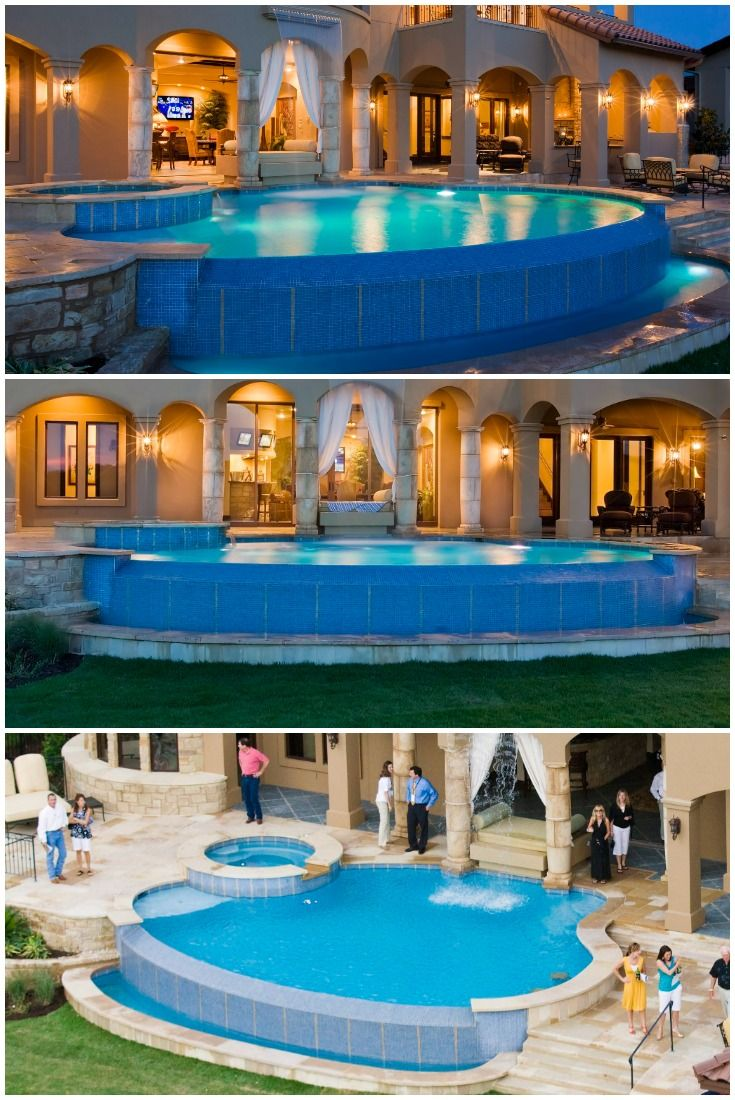 Austin Area Pools Outdoor Living Area Luxury Swimming Pools Gorgeous Backyard Pool Design Ideas Swimming Pool House Luxury Swimming Pools Backyard Po