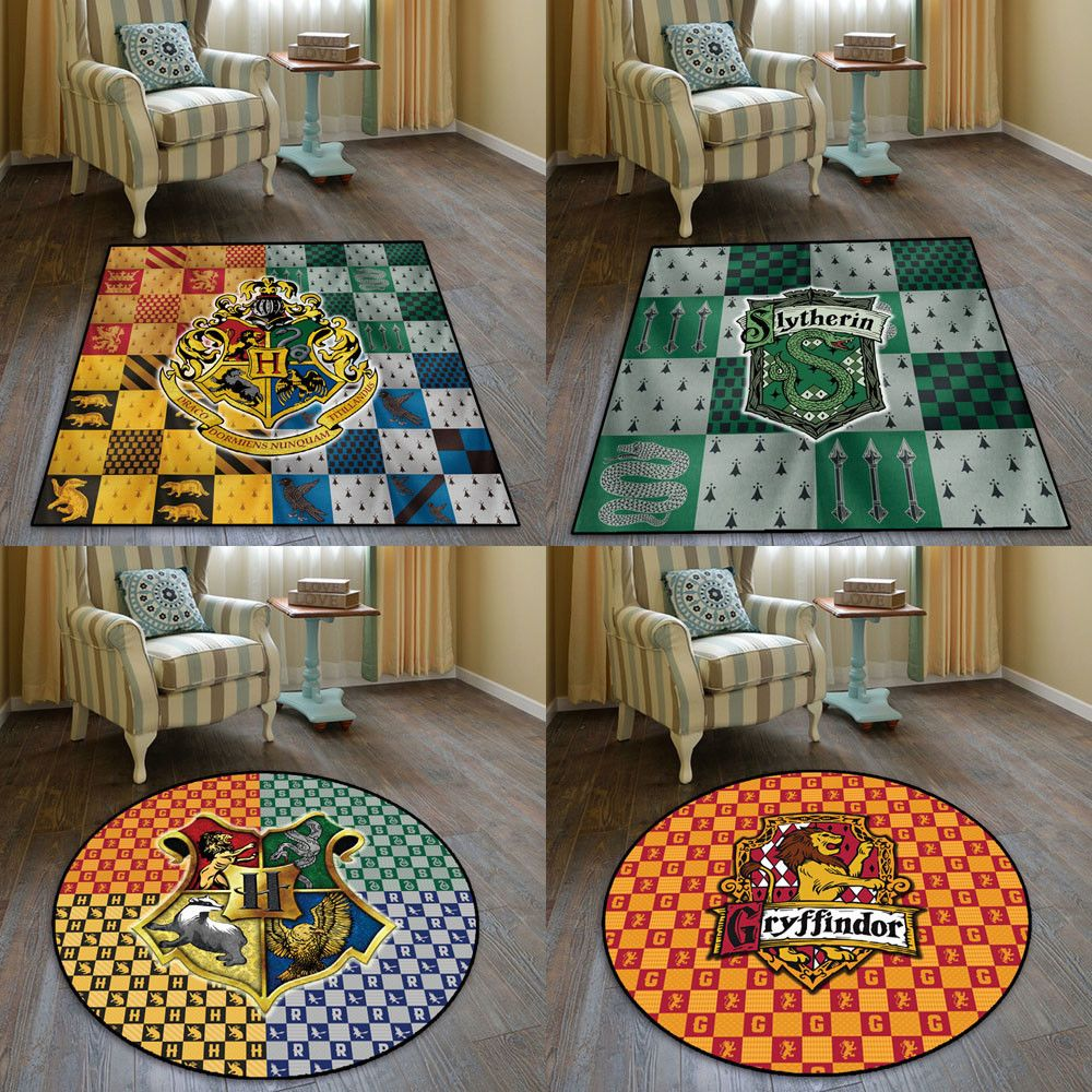 Hogwarts Rug Top Left Purchased 58 Rugs Kids Rugs Home Decor