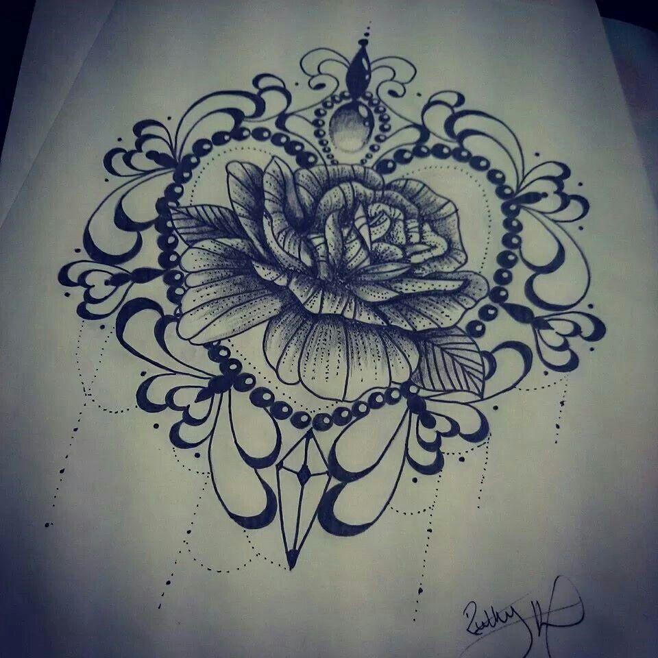 Girly Tattoos, Tattoos, Flower