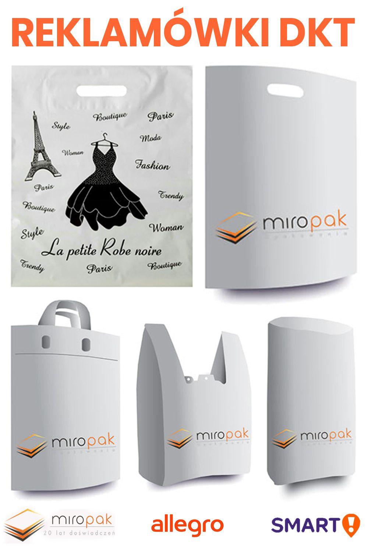 Rozne Typy Reklamowek Foliowych Nadruk Loga Lub Grafiki Paris Fashion Womens Fashion Petite Robes