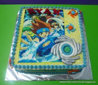 Sensational Cakes Online Singapore BEYBLADE THEME