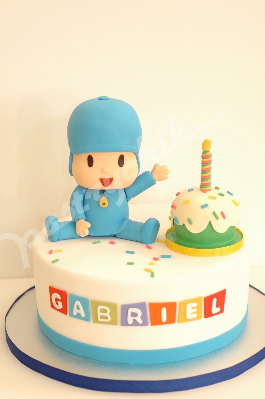 Brilliant 21 Great Picture Of Pocoyo Birthday Cake Diy Birthday Cake Funny Birthday Cards Online Elaedamsfinfo