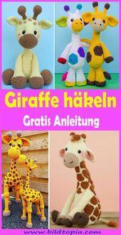 Giraffe häkeln – kostenlose & einfache Anleitung