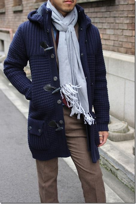 Bark Duffle Coat, looks like a sweater but isn't   Looks ...