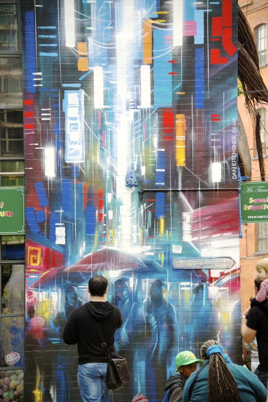 Amazing street art at the Birmingham Custard Factory | DANK Dan ...