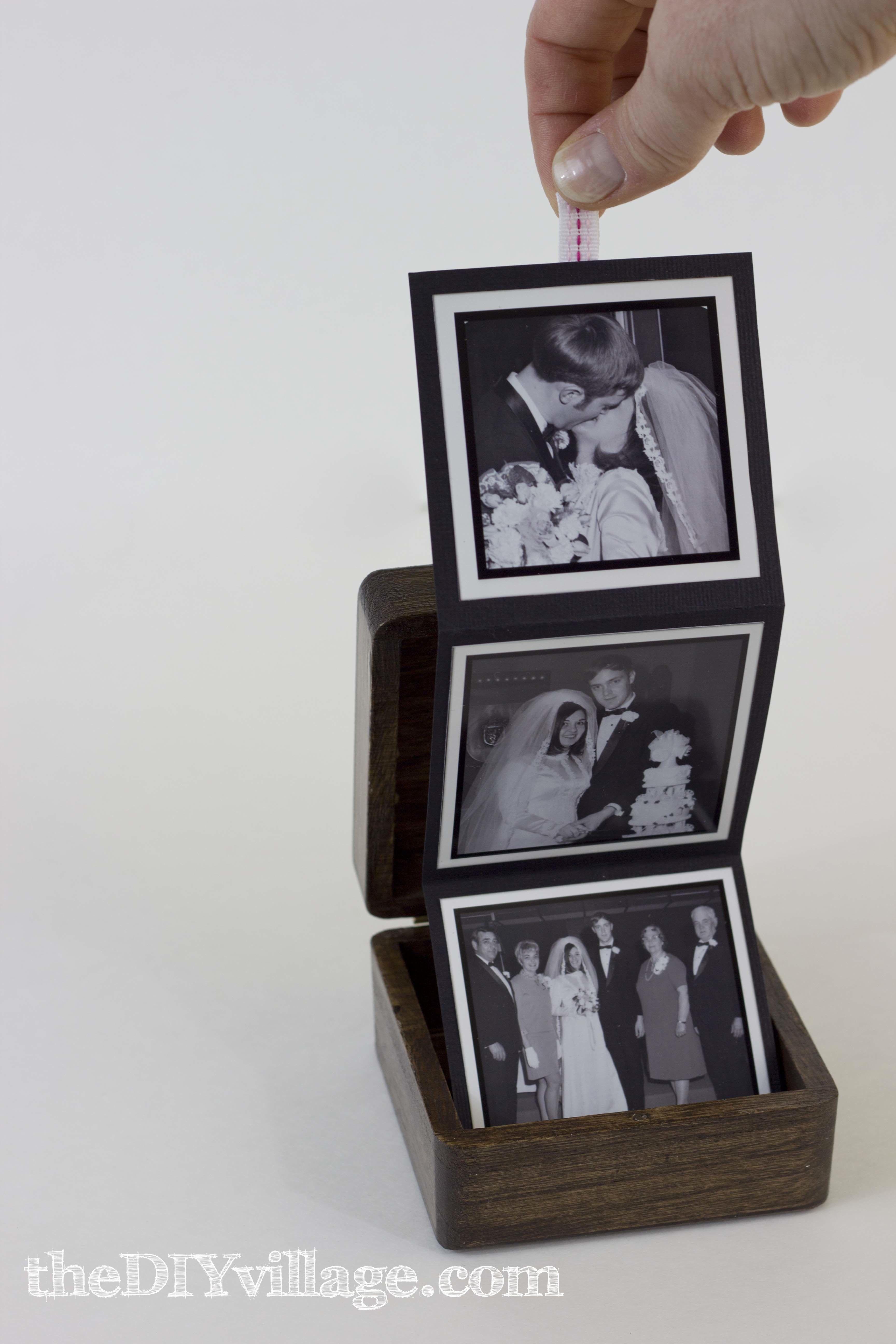 PopUp Photo Box (Gift Idea Easy diy christmas gifts