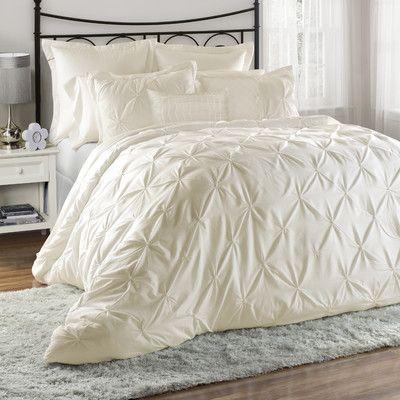 Found It At Wayfair Bazarus 8 Piece Queen Comforter Set Comforter Sets Ivory Comforter King Comforter Sets