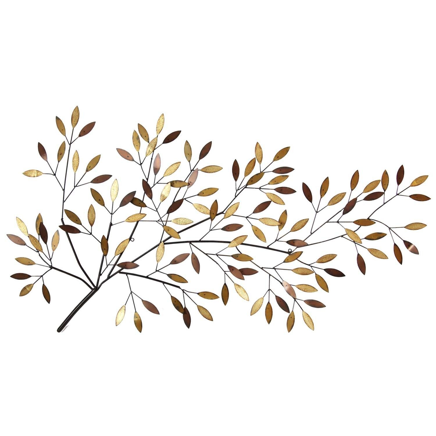Metal Branch Wall Decor Stratton Home Decor Blooming Tree Branch Multicolor Metal Wall
