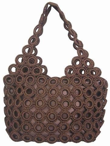 avec des anneaux rideaux les sacs pinterest anneau sac et crochet. Black Bedroom Furniture Sets. Home Design Ideas