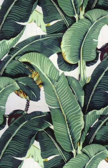 Martinique Wallpaper The Original Banana Leaf Created By Decorator Don