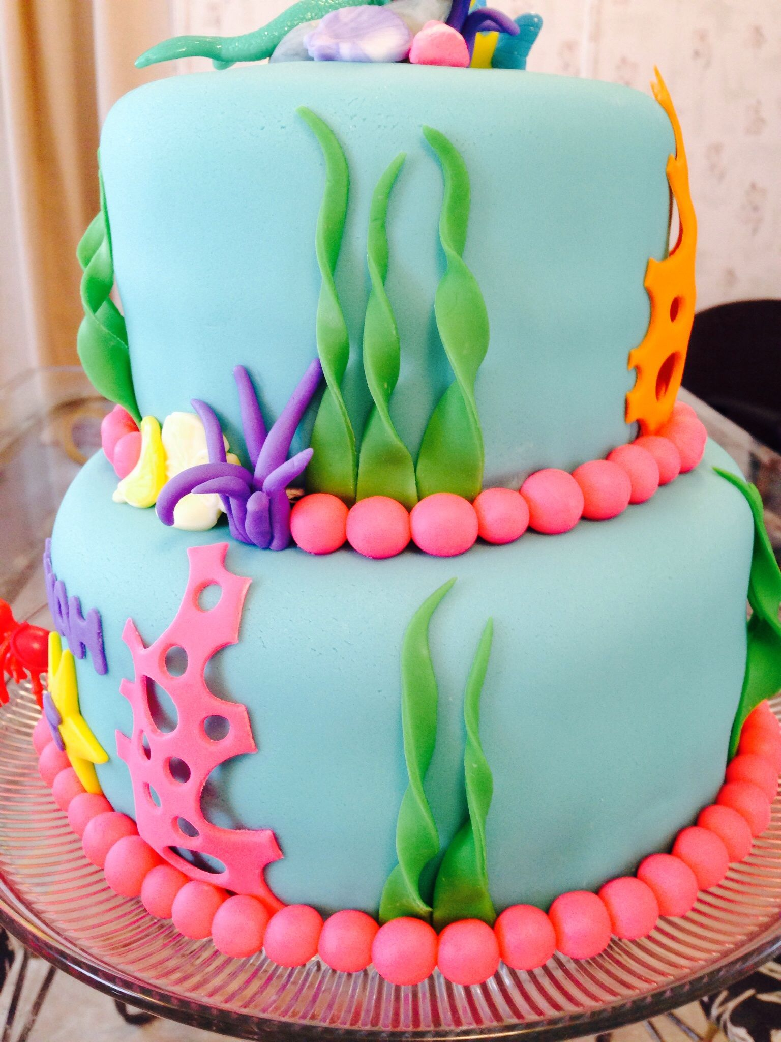Happy Birthday Jackie Mermaid Cake
