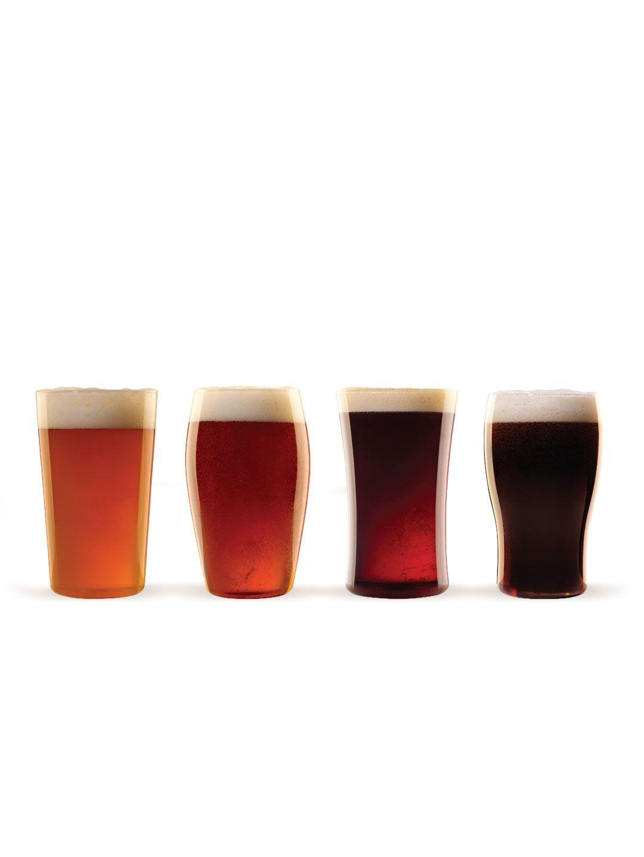 Beer Essentials Glasses Set Of 4 By Luigi Bormioli At Gilt Craft Beer Glasses Luigi Bormioli Beer