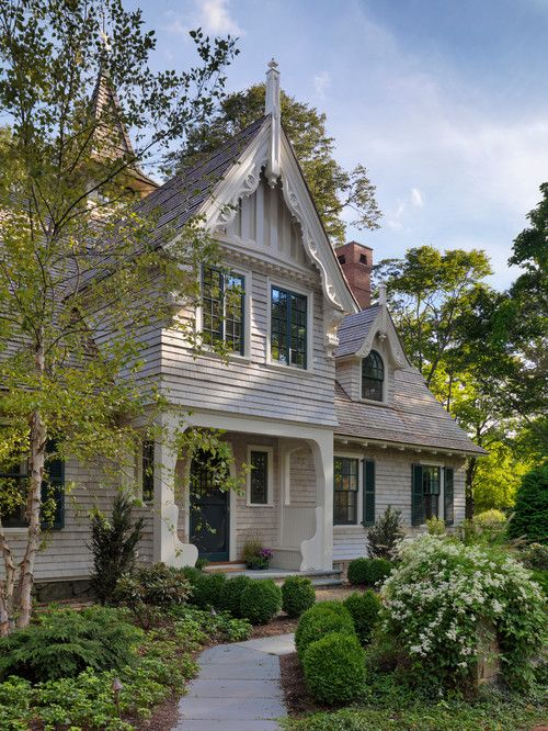 19th Century Cottage Renovated In American Shingle Style House