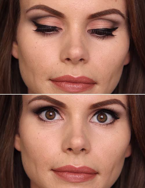 Eye Makeup For Deep Set Eyes Step By Step Tutorial In 2019