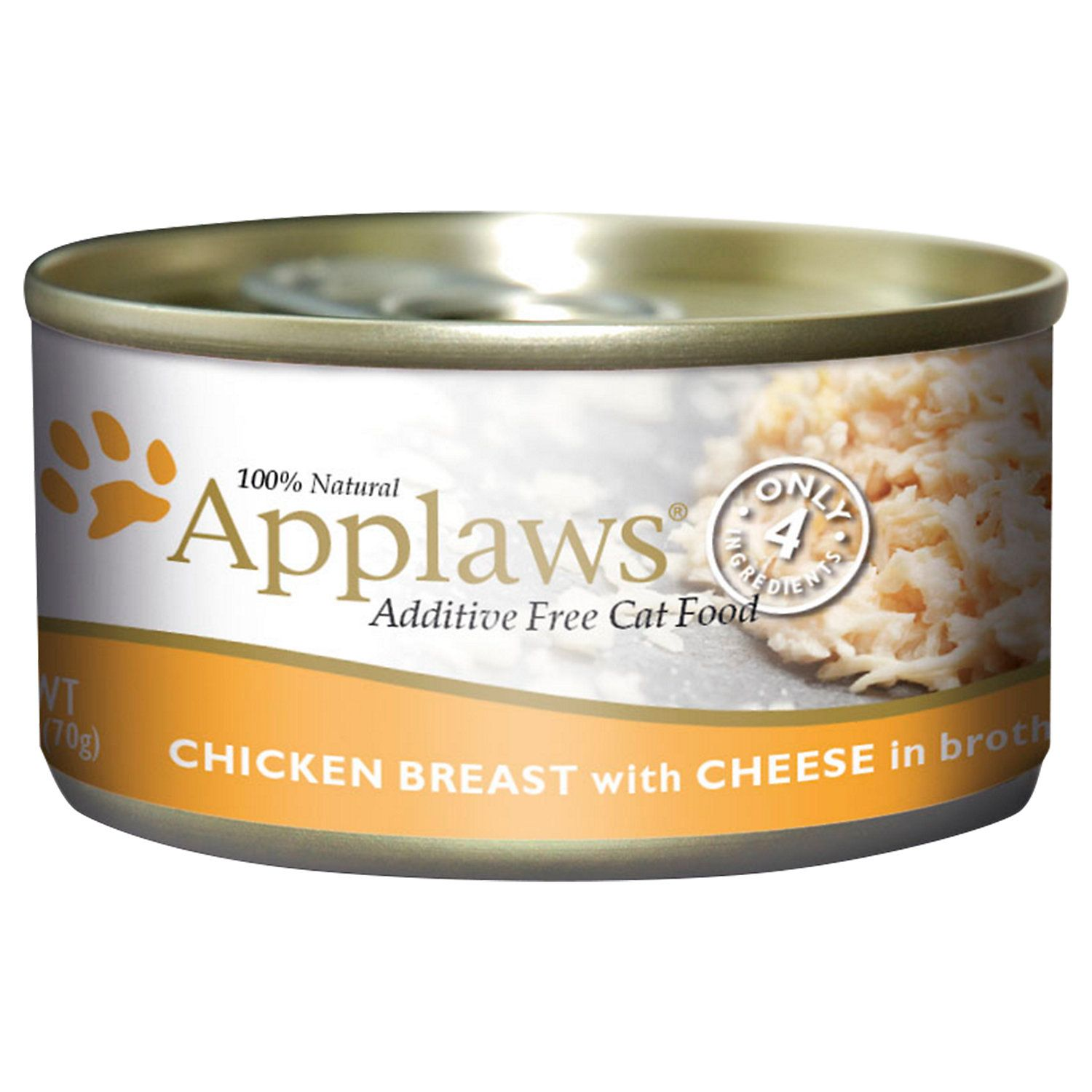 Applaws Chicken with Cheese Canned Wet Cat Food, 2.47 oz