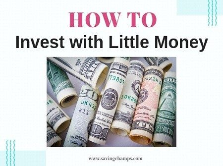 Little money investment options