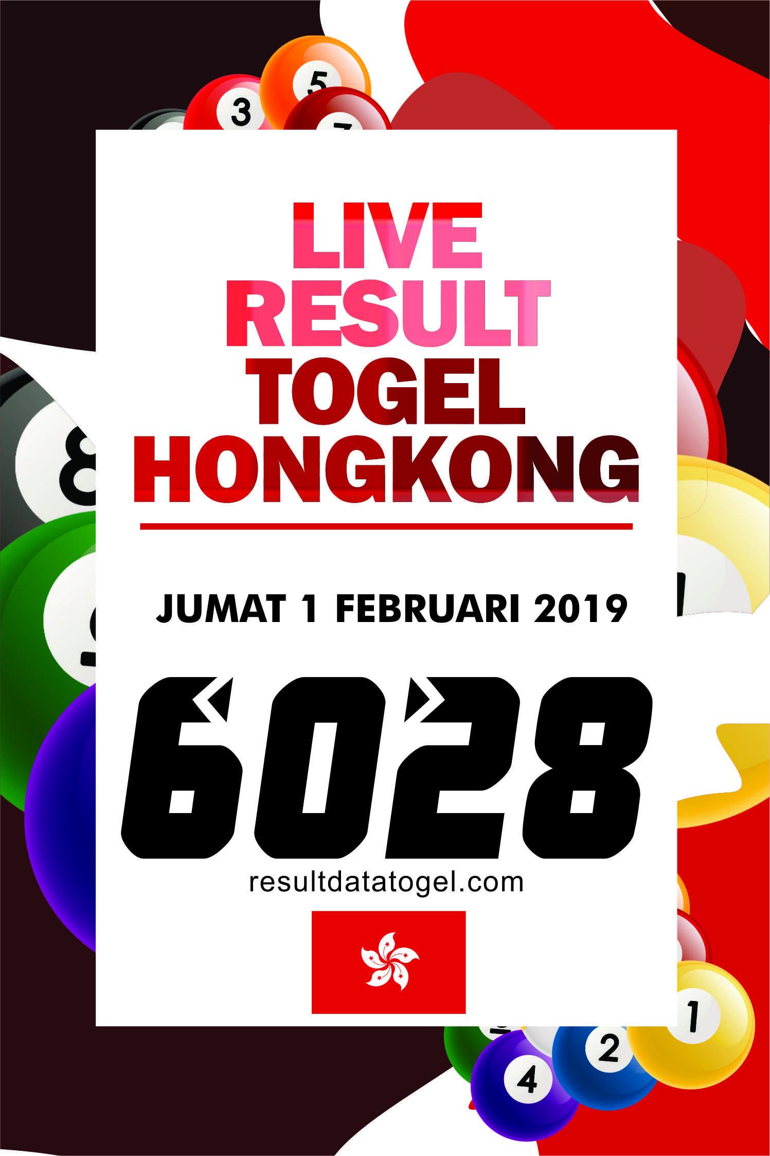 Data HK JUMAT 1 FEBRUARI 2019 , keluaran hk, pengeluaran hk, rekapan