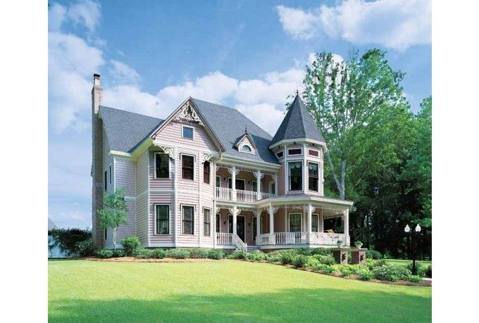 Victorian Style House Plan 5 Beds 4 Baths 4821 Sq Ft Plan 1047 24 Victorian House Plans Queen Anne House Victorian Homes