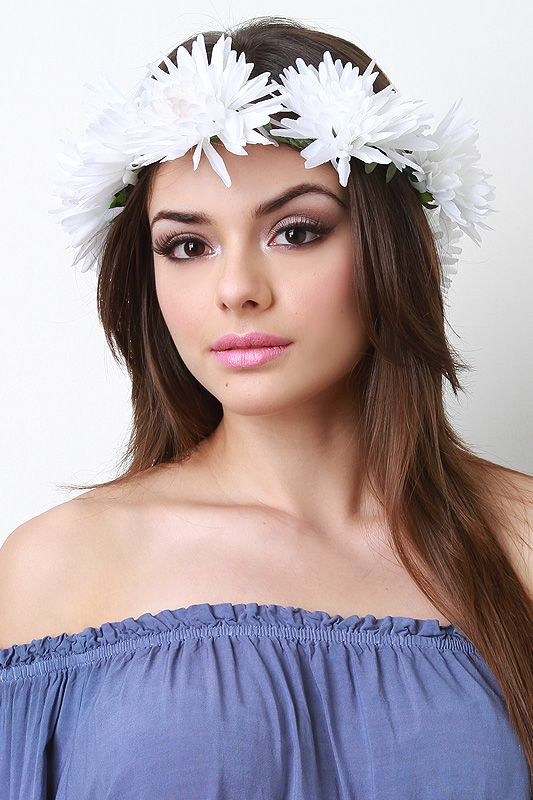 Chrysanthemum Flower Crown
