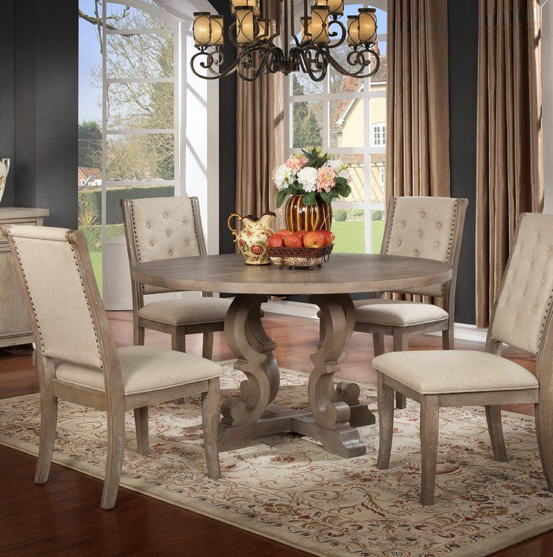 Ophelia Co Isabelle 5 Piece Dining Set Wayfair Round Dining Table Round Dining Table Sets Round Dining