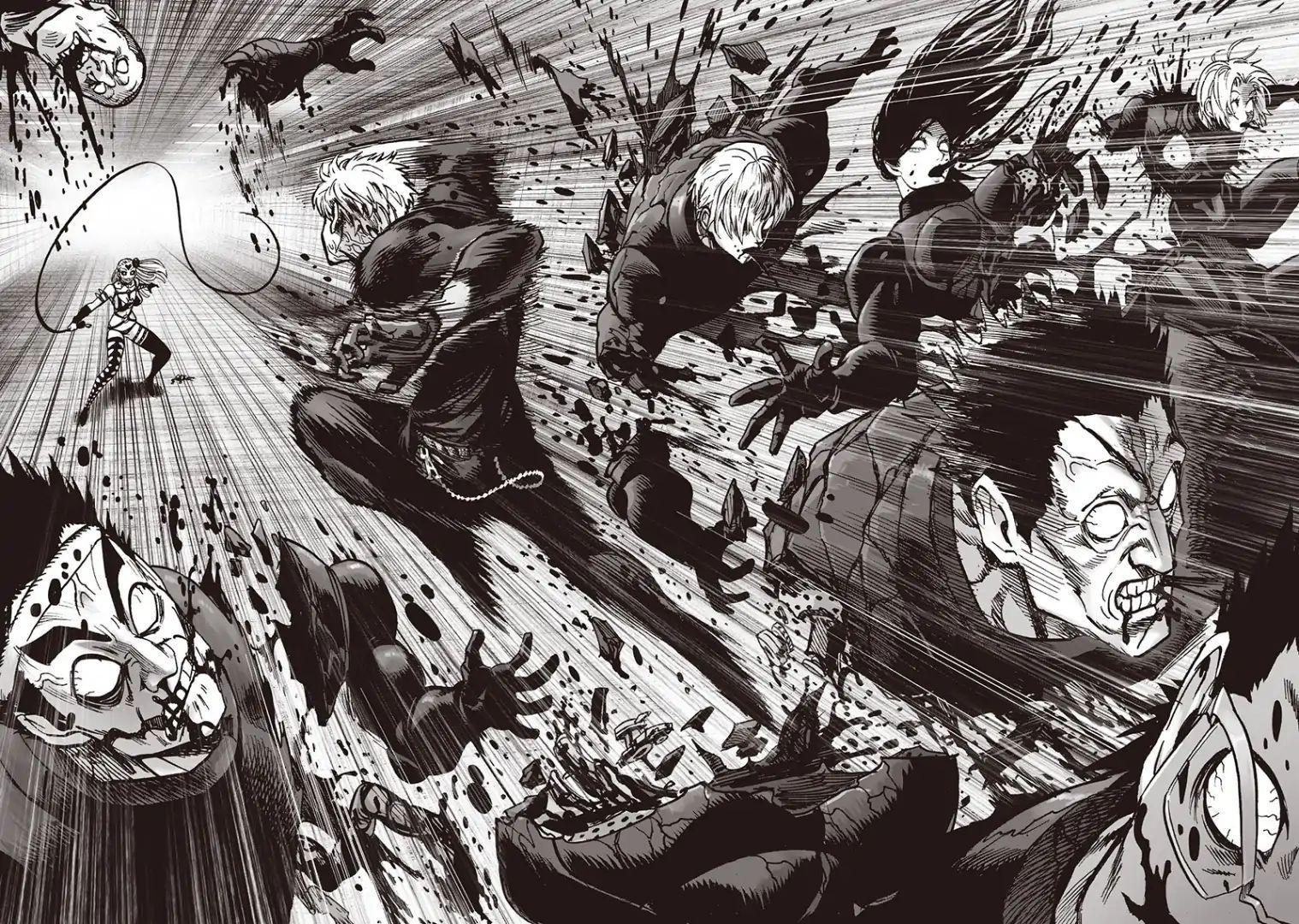 OnePunch Man, Chapter 103/ ViewerProhibited Battle in