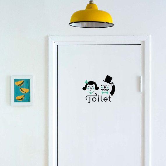 Toilet Porte Signes Porte Signes Mesdames et Messieurs toilettes salle de bain Porte Signes