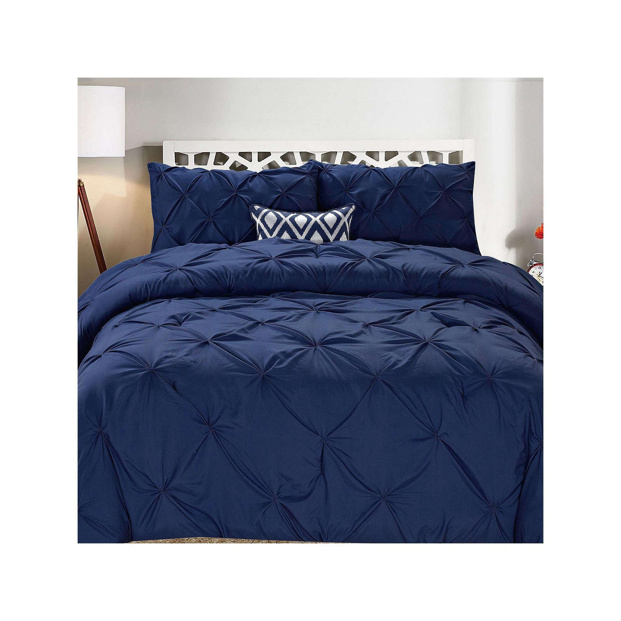 Swift Home Pintuck Comforter Set Duvet Cover Sets Duvet Cover
