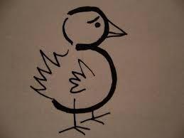Resultado de imagen para animales a partir de numeros for Disegnare progetti