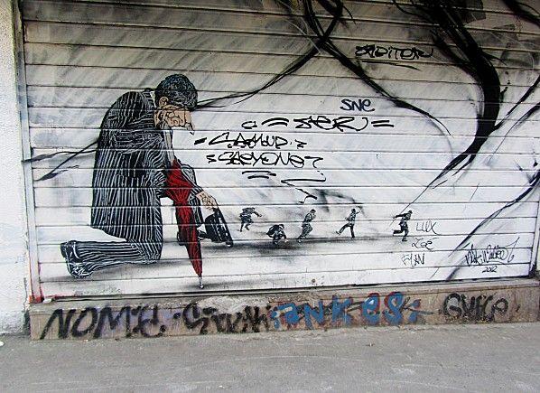 """Street Art autour de Belleville par """"princessepepette"""""""