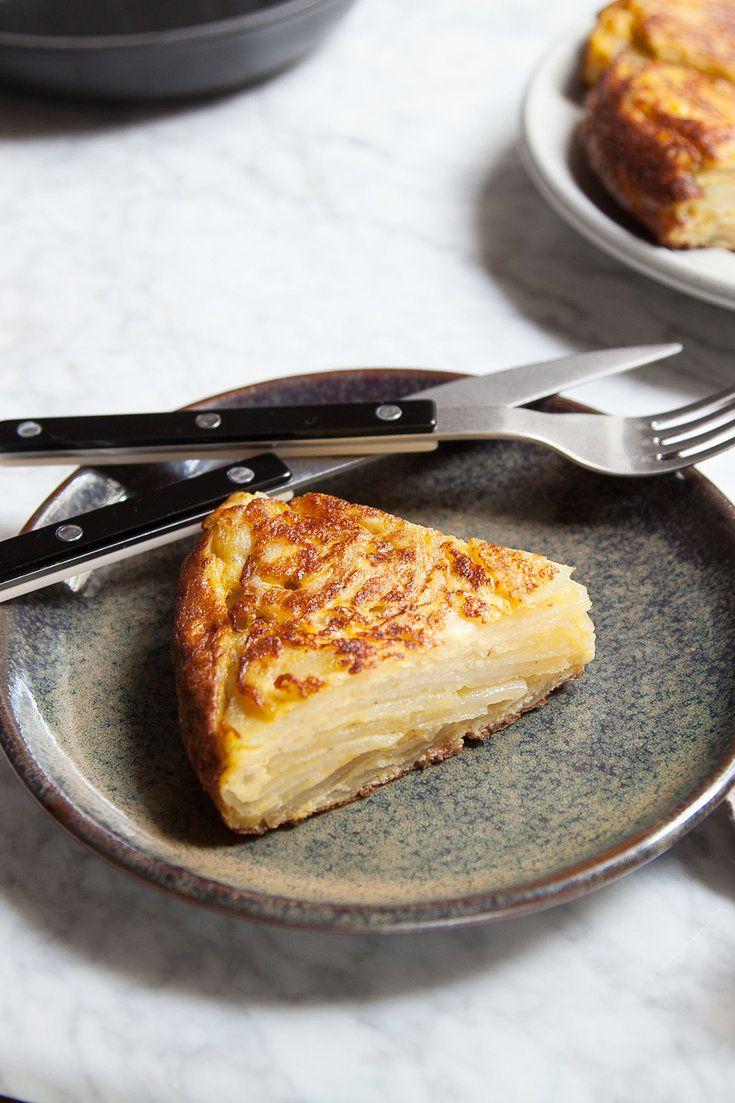 Spanish Tortilla Recipe Light recipes, Food