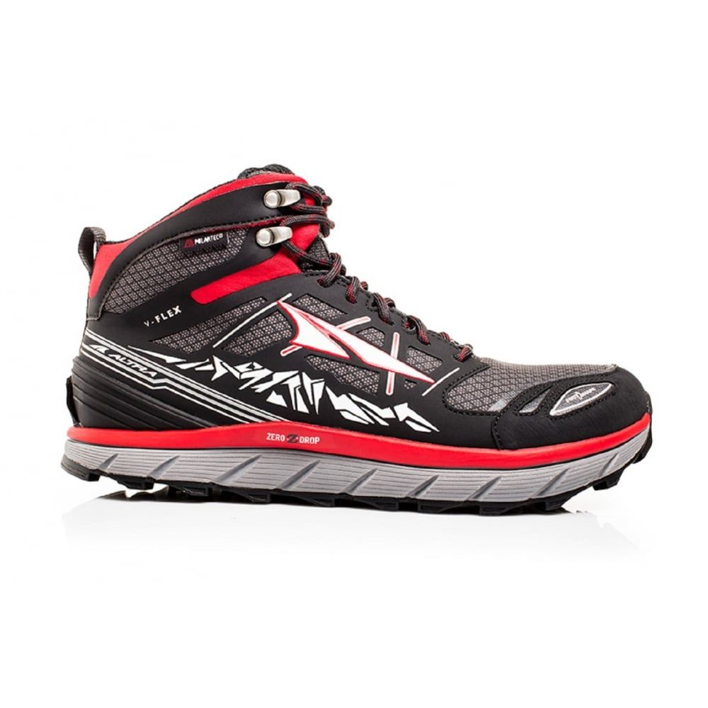 Altra Lone Peak 3.0 Neoshell Mid Mens Trail Running Boots Red ... 9fc08fd91