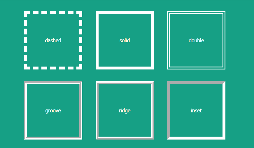 20 Different Css Border Examples Css Css Examples Border