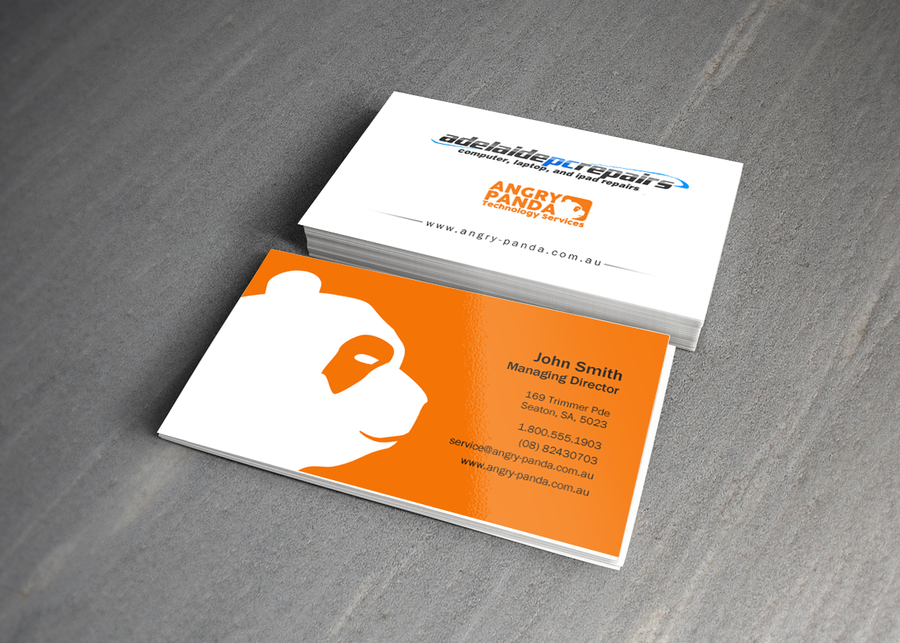 freelance business card - two logos by indezyn | Business Card ...