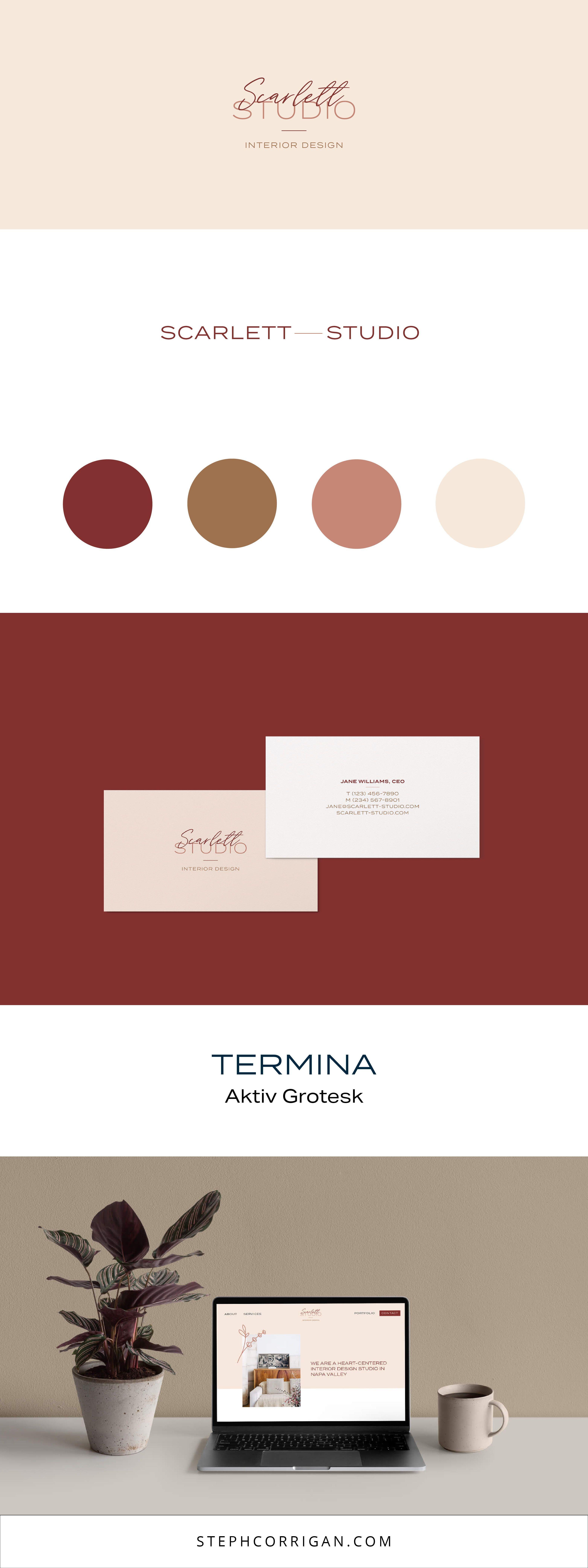 branding and interior design firms design