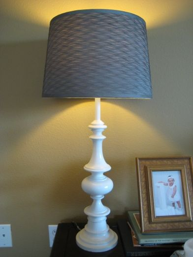 Don T Pass On Brass How To Paint A Brass Lamp White Table Lamp Brass Lamp Lamp