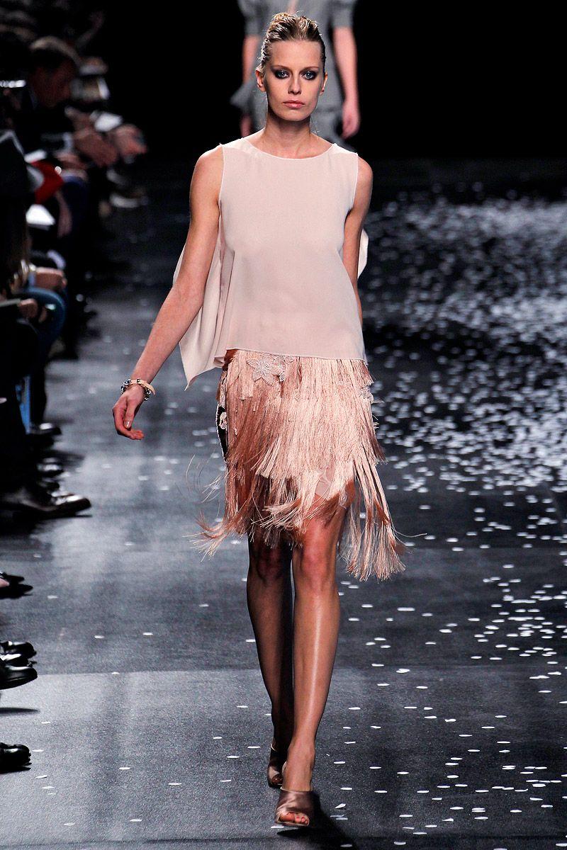 ANDREA JANKE Finest Accessories: Flutter after Flutter of Lace | Nina Ricci Spring/Summer 2013 #NinaRicci #Fashion #ParisFashionWeek #PFW