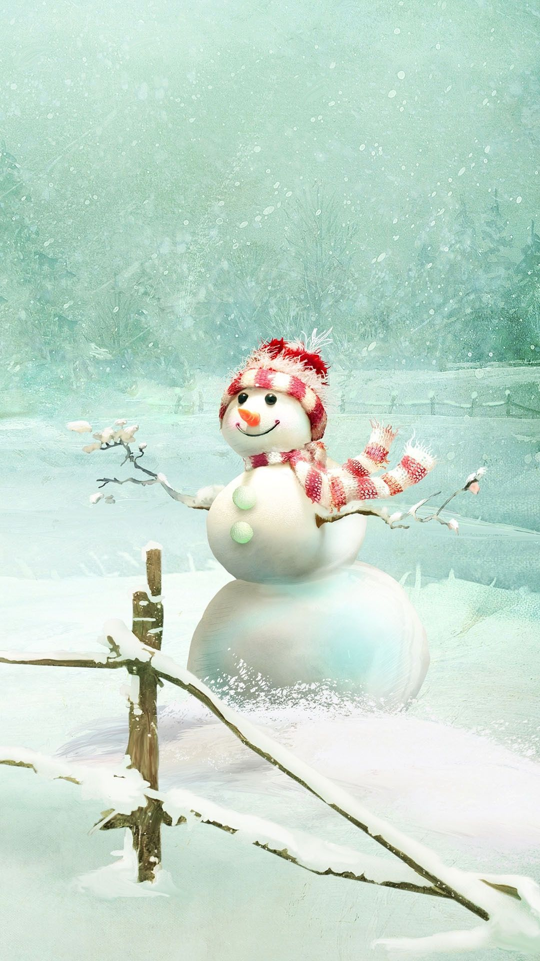 Wallpaper image by Susie Hargis on ChristmasSnowman