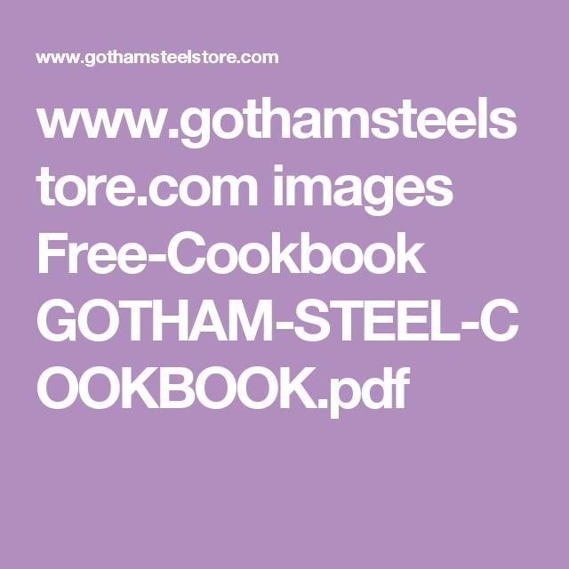 Www Gothamsteelstore Com Images Free Cookbook Gotham Steel Cookbook