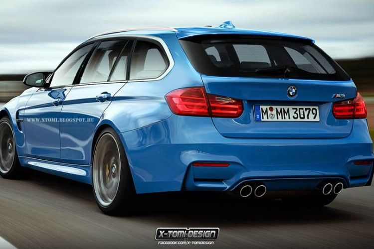 What the F81 BMW M3 Touring Might Look Like...If It Was