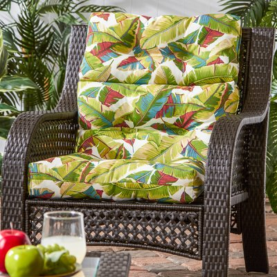Andover Mills Sarver Indoor Outdoor Lounge Chair Cushion Fabric